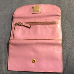 Dooney & Bourke Bags - Dooney & Bourke Lilac Wallet/Billfold